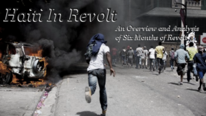 Haiti in Revolt: RAM Study Group