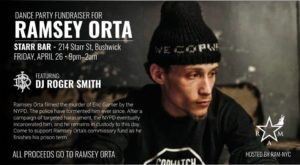Dance Party Fundraiser For Ramsey Orta @ Starr Bar